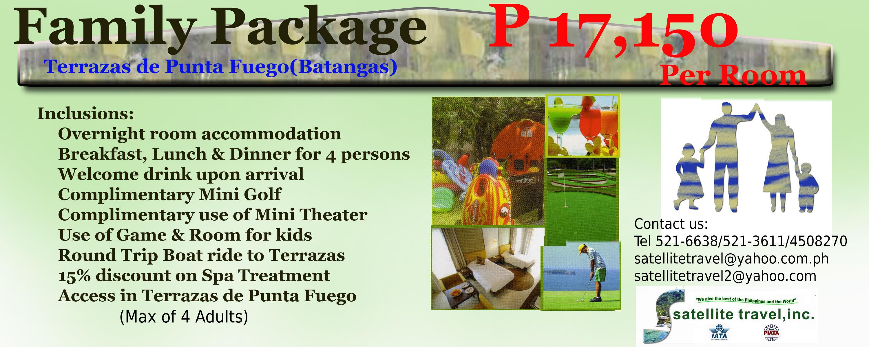 Family Package Terrazas Punta Fuego Batangas Satellite