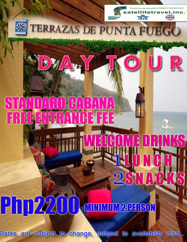 Terrazas Day Tour Punta Fuego For Only Php2200